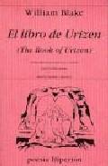 Libro EL LIBRO DE URIZEN = THE BOOK OF URIZEN