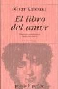 Libro EL LIBRO DEL AMOR