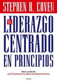 Libro EL LIDERAZGO CENTRADO EN PRINCIPIOS