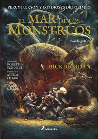 Libro EL MAR DE LOS MONSTRUOS (PERCY JACKSON #2)