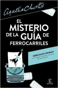 Libro EL MISTERIO DE LA GUIA DE FERROCARRILES