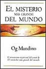 Libro EL MISTERIO MAS GRANDE DEL MUNDO