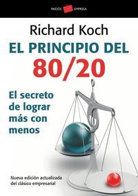 Libro EL PRINCIPIO DEL 80/20
