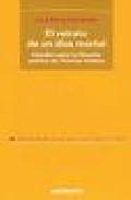 Libro EL RETRATO DE UN DIOS MORTAL: ESTUDIO SOBRE LA FILOSOFIA POLITICA DE THOMAS HOBBES