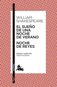 Libro EL SUEÑO DE UNA NOCHE DE VERANO / NOCHE DE REYES