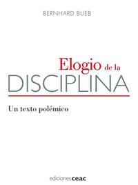 Libro ELOGIO DE LA DISCIPLINA
