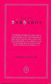 Libro ENSAYOS BARBAROS