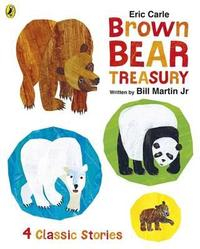 Libro ERIC CARLE S BROWN BEAR TREASURY