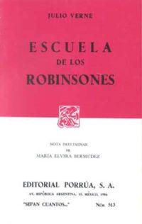 Libro ESCUELA DE LOS ROBINSONES