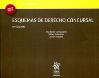 Libro ESQUEMAS DE DERECHO CONCURSAL  9ª EDICION