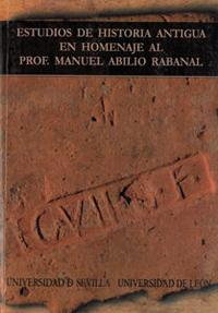 Libro ESTUDIOS DE HISTORIA ANTIGUA EN HOMENAJE AL PROFESOR MANUEL ABILI O RABANAL