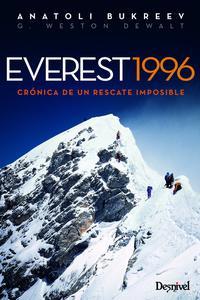 Libro EVEREST 1996: CRONICA DE UN RESCATE IMPOSIBLE
