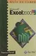 Libro EXCEL 2000, GUIA DE CAMPO