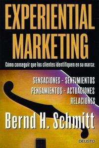 Libro EXPERIENTIAL MARKETING