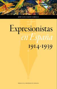 Libro EXPRESIONISTAS EN ESPAÑA
