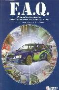 Libro F.A.Q.: PREGUNTAS FRECUENTES SOBRE MODELISMO DE COCHES Y MOTOS