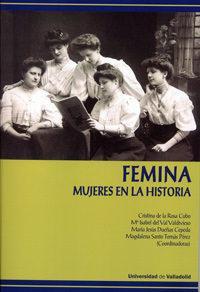 Libro FEMINA: MUJERES EN LA HISTORIA