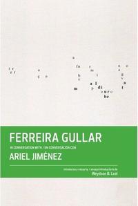 Libro FERREIRA GULLAR EN CONVERSACION CON ARIEL JIMENEZ