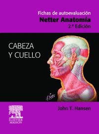 Libro FICHAS DE AUTOEVALUACION: NETTER ANATOMIA: CABEZA Y CUELLO