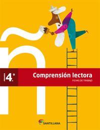 Libro FICHAS DE COMPRENSION LECTORA ED 2012 4º PRIMARIA