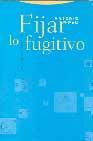 Libro FIJAR LO FUGITIVO