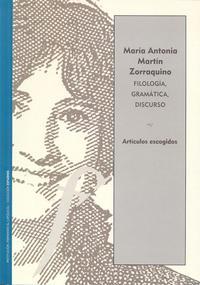 Libro FILOLOGÍA, GRAMÁTICA, DISCURSO. ARTÍCULOS ESCOGIDOS