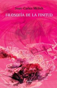 Libro FILOSOFIA DE LA FINITUD