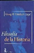 Libro FILOSOFIA DE LA HISTORIA
