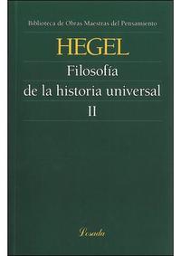Libro FILOSOFIA DE LA HISTORIA II