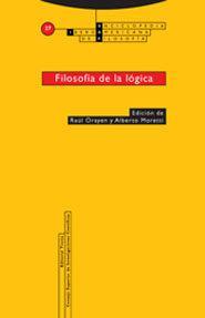 Libro FILOSOFIA DE LA LOGICA