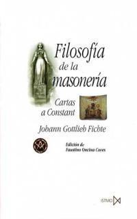 Libro FILOSOFIA DE LA MASONERIA: CARTAS A CONSTANT
