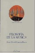 Libro FILOSOFIA DE LA MUSICA