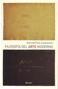 Libro FILOSOFIA DEL ARTE MODERNO
