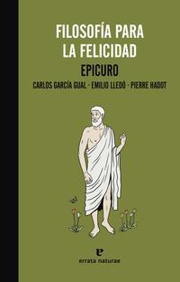 Libro FILOSOFIA PARA LA FELICIDAD
