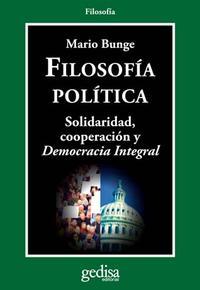 Libro FILOSOFIA POLITICA