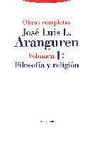 Libro FILOSOFIA Y RELIGION