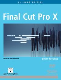 Libro FINAL CUT PRO X