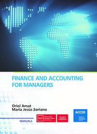 Libro FINANCE AND ACCOUNTING FOR MANAGERS