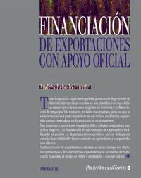Libro FINANCIACION DE EXPORTACIONES CON APOYO OFICIAL