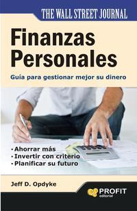 Libro FINANZAS PERSONALES: GUIA PARA GESTIONAR MEJOR SU DINERO