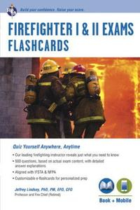 Libro FIREFIGHTER I AND II EXAMS FLASHCARDS BOOK