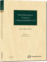 Libro FIRMA ELECTRONICA: CONTRATOS