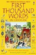 Libro FIRS THOUSAND WORDS IN GERMAN