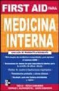 Libro FIRST AID MEDICINA INTERNA