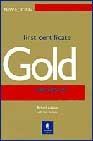 Libro FIRST CERTIFICATE GOLD. COURSEBOOK