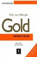 Libro FIRST CERTIFICATE GOLD: TEACHER S BOOK