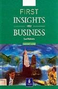 Libro FIRST INSIGHTS INTO BUSINESS: INTO BUSINESS LOWER INTER CBCAS 1-2