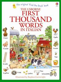 Libro FIRST THOUSAND WORDS IN ITALIAN