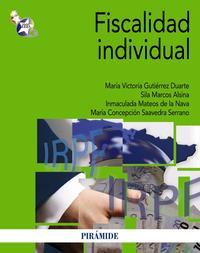Libro FISCALIDAD INDIVIDUAL