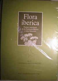 Libro FLORA IBERICA: CRUCIFERAE-MONOTROPACEAE